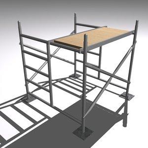maya scaffolding plank