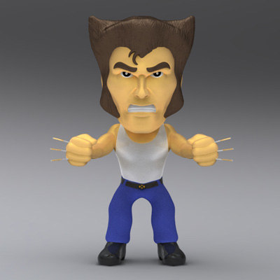 maya x-men wolverine bobble head