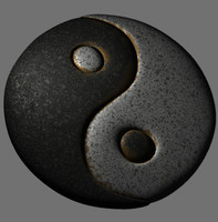 yin yang 3d lwo