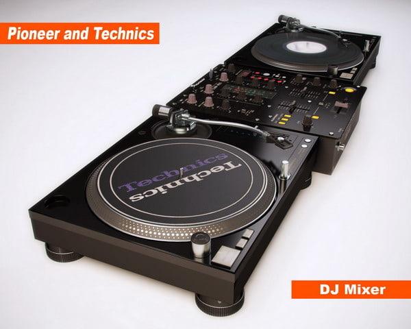 vinyl dj mixer max