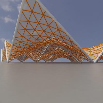 membrane structure super 04 dxf