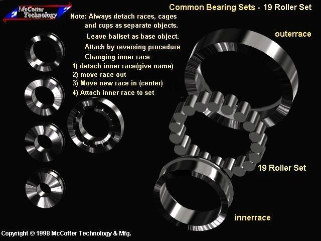 machine roller bearing 3ds