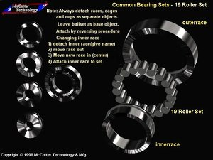 machine roller bearing 3ds