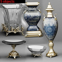 Highpoly Vase Collection