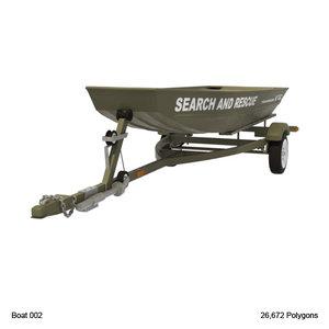 3d jon boat