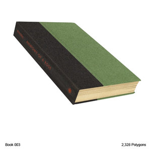 book 3d obj