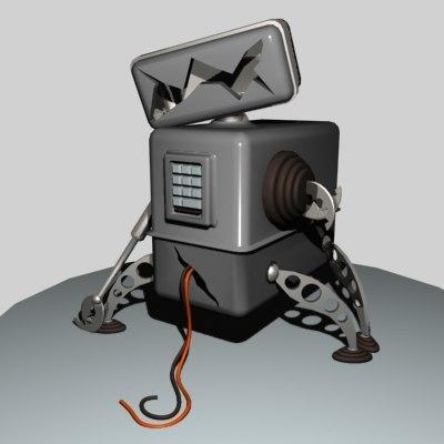3ds max broken robot