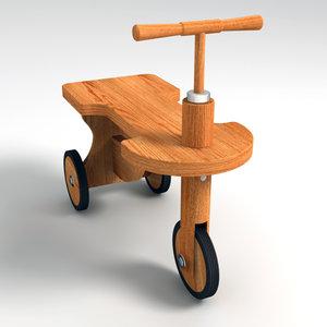 child bike 3ds