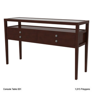 lwo console table
