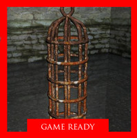 hanging cage 3d model