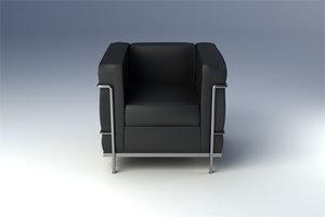 maya lc2 armchair