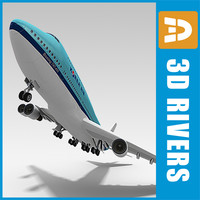 b-747 korean look 3ds