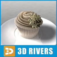 cake bake 3d model
