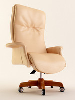 3d manager armchair model