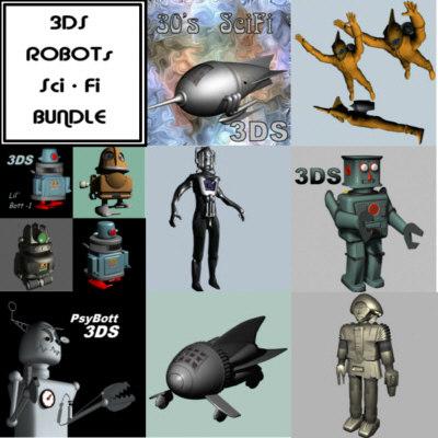 3d bundled robots