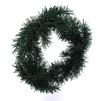 3ds max wreath ornaments christmas