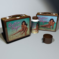 Betty Page Lunchbox 01