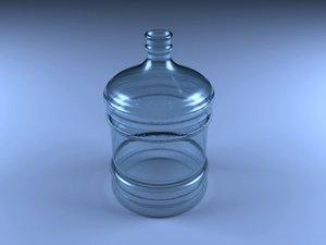 gallon water 3d model
