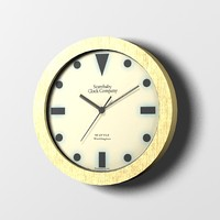 art deco wall clock max free