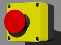 3d emergency stop model