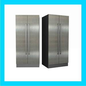 3d titanium refridgerator modern