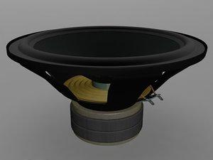 3ds max tonsil speaker