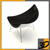 3ds coconut chair george nelson