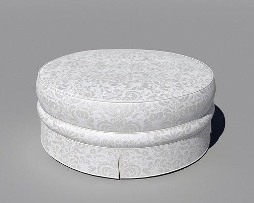 classic pouf 3d max