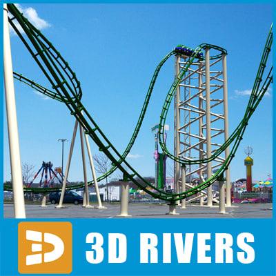 roller coaster 3ds