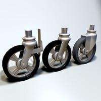 Scaffold Wheels 01