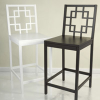 3ds overlapping squares barstool