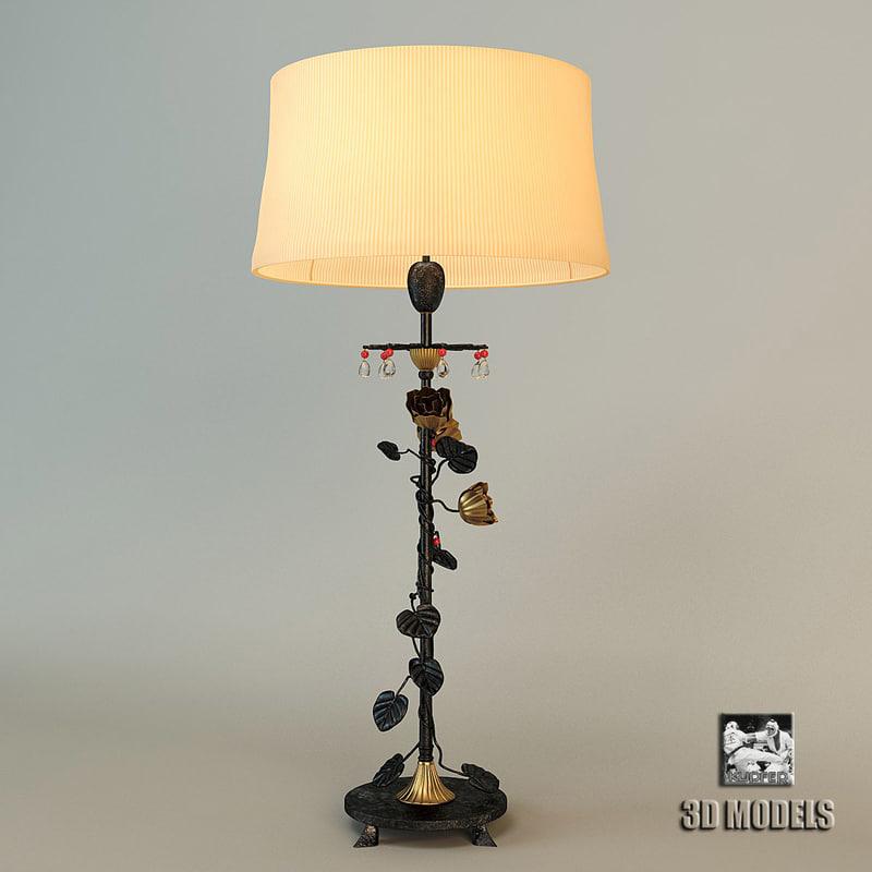 sigma lamp floor 3d model