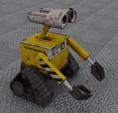 3d robot model