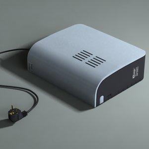 ups mustek powermust 400 3d model