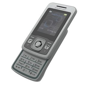 sony ericsson t303 3d model
