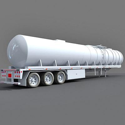3d semi truck