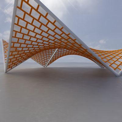 lightwave membrane structure super 08