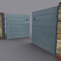 3d model metal panel