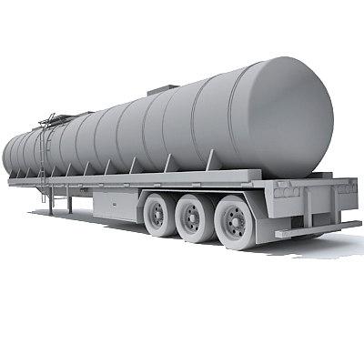 3d trailer model