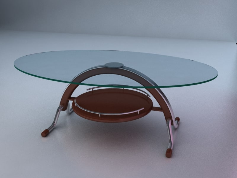 table center 3d max