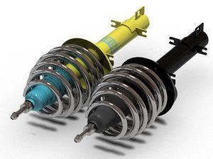 3ds bilstein car suspension