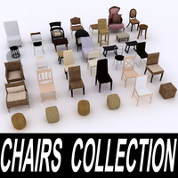 Chairs and Stools Collection