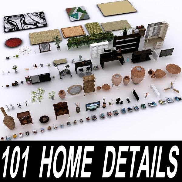 home details 101 furniture 3d max
