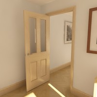 panelled glazed door max