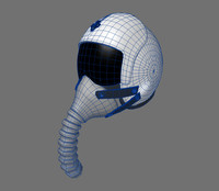 3d model of airforce helmet