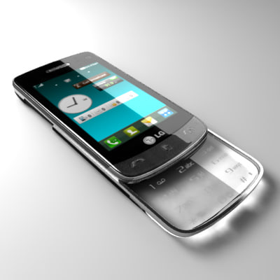 3ds lg crystal gd900 communicator
