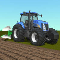New Holland TG 285 plow.zip