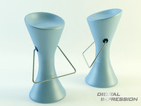 place chair 3d 3ds