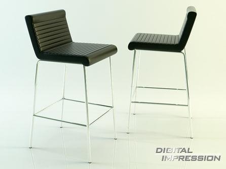 3d model place chair