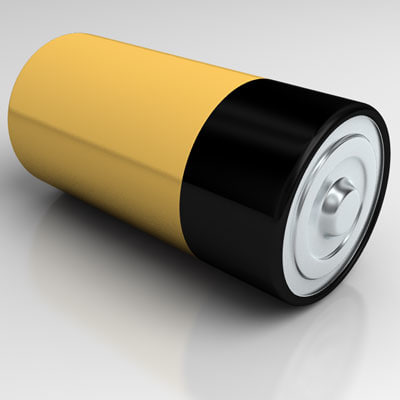 lwo d-cell battery